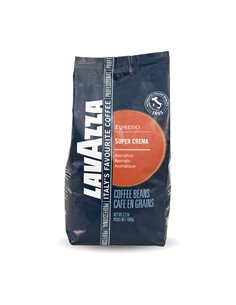 Lavazza Super Crema Whole Bean Coffee 1 kg