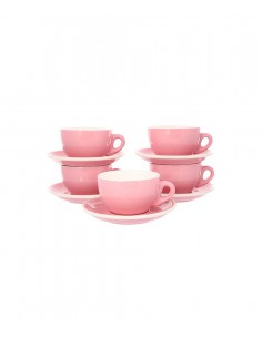 Buy Tiamo Espresso Cup & Saucer Set (5 Pcs) 80 ml in Saudi