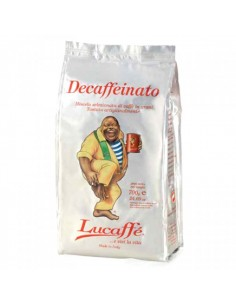 Buy Lucaffe Decaffeinated Coffee Beans 700 g in Saudi Arabia