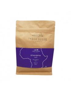 3 Seeds Ethiopia Burtukaana Whole Beans Coffee 250 g