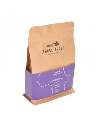 Buy 3 Seeds Ethiopia Yirgacheffe Whole Beans Coffee 250g in