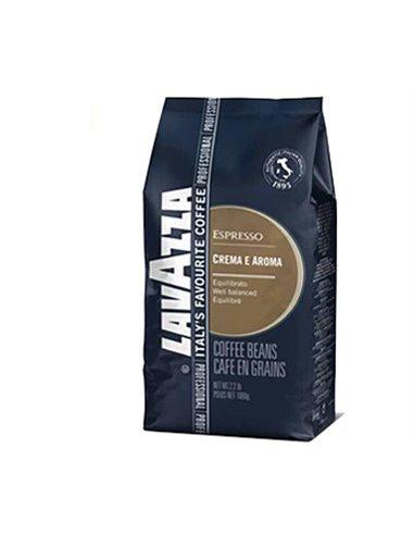قهوة لافازا الكريمية بنكهة ورائحة مركزة ١ كيلو جرام