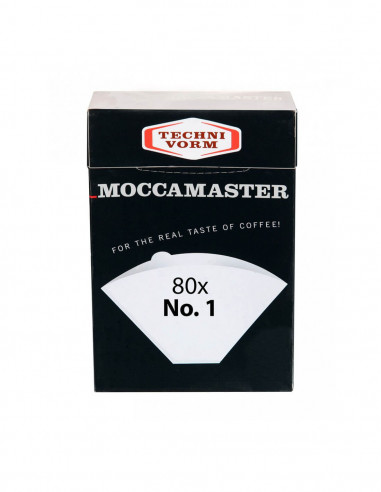 Buy Moccamaster Paper Filter No. 1 Cup One in Saudi Arabia