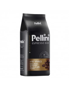 Pellini Caffe Espresso Bar N° 82 Vivace Whole Beans Coffee 1 kg