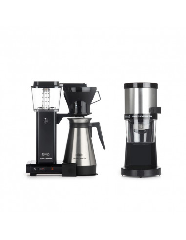 Buy Moccamaster Thermal Carafe Coffee Maker & Grinder Pack in
