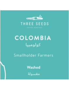 Buy 3 Seeds Colombia Coffee 250g in Saudi Arabia, Khobar