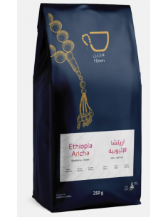 Buy Hjeen Coffee Ethiopia Aricha 250g in Saudi Arabia, Khobar