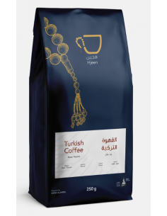 Buy Hjeen Coffee Turkish Coffee 250g in Saudi Arabia, Khobar
