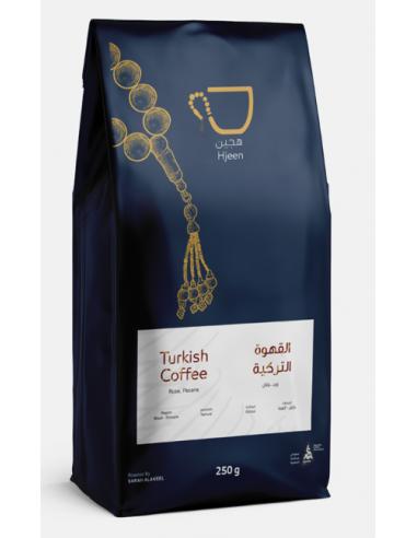 Buy Hjeen Coffee Turkish Coffee 250g in Saudi Arabia, Khobar