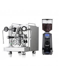 مجموعة صانعة الإسبريسو R58 امن روكيت و طاحنة القهوة MDX من نوفا