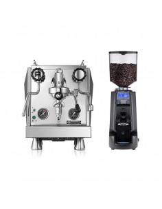 مجموعة آلة الاسبريسو روكيت جيوتو إيفولوزيون آر وطاحنة القهوة