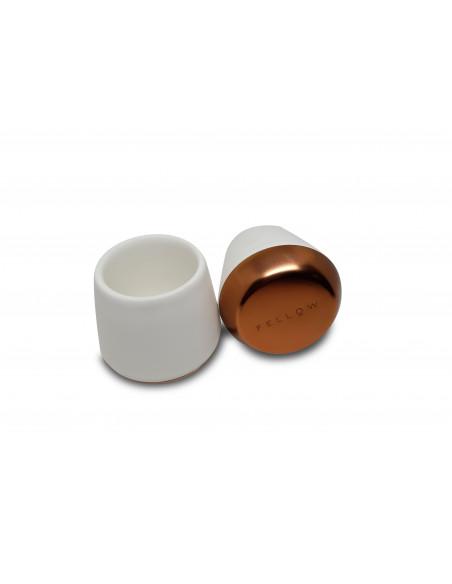 Buy Fellow Joey Junior Demitasse Mugs White 70ml - Set of 2 in