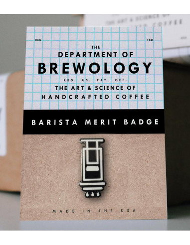 Buy Barista Merit Badge - Aeropress in Saudi Arabia, Khobar