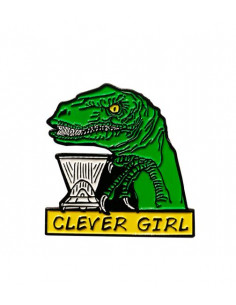 Buy Caffiend - Clever Girl Pin in Saudi Arabia, Khobar, Dammam