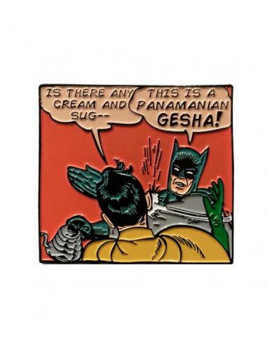 Buy Caffiend - Batman Geisha Pin in Saudi Arabia, Khobar