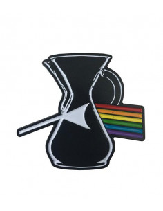 Buy Caffiend - Darkside of the Chemex Pin in Saudi Arabia