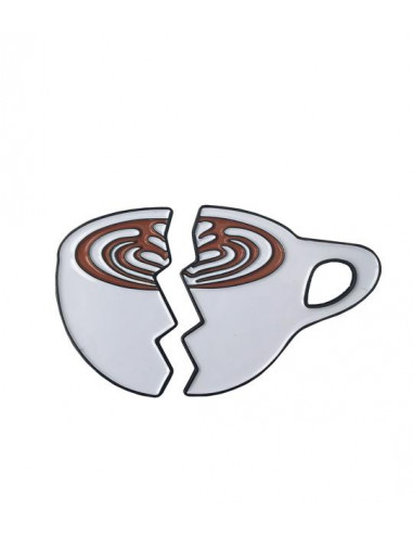 Buy Caffiend - Split Latte pin in Saudi Arabia, Khobar, Dammam