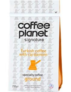 قهوة كوكب القهوة التركية بنكهة الهيل ٢٥٠ جرام
