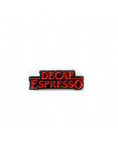 Buy Caffiend - Decaf Espresso Pin in Saudi Arabia, Khobar
