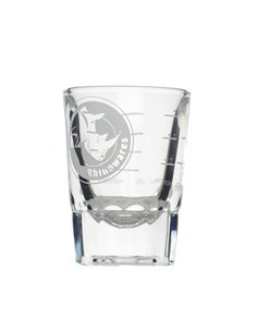 Rhinowares Round Shot Glass Lined 60 ml