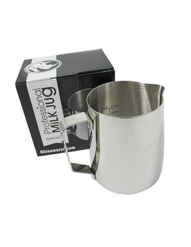 Rhinoware Pro Milk Pitcher Stainless Steel 600 ml