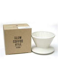 Kinto Slow Coffee Style Brewer 2 Cups White