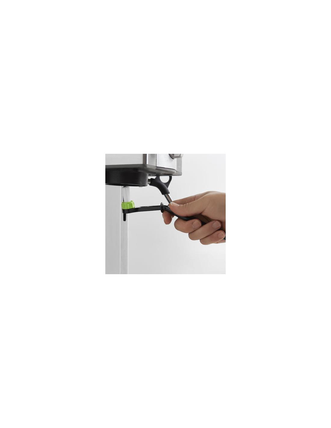 Cafetto Cafessi Coffee Machine Swivel Head Cleaning Brush Espresso Machine BLACK