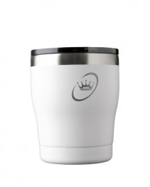 The Crown Double Wall Insulated cup 10oz- White