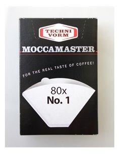 أوراق ترشيح القهوة من موكا ماستر