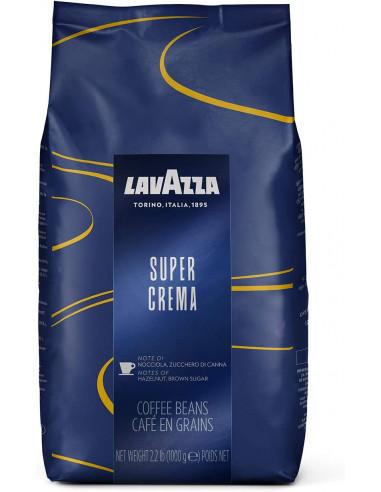 Lavazza Super Crema Whole Bean Coffee 1 kg