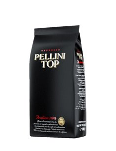 Pellini Caffe Top Grano B Whole Beans Coffee 1 Kg