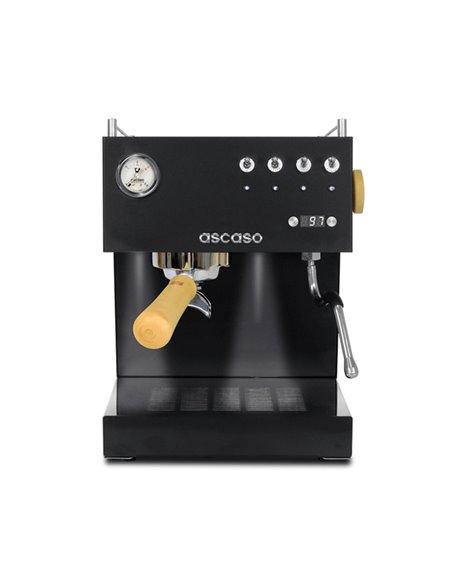 آلة الإسبريسو أسكاسو أونو السوداء- بشاشة رقمية