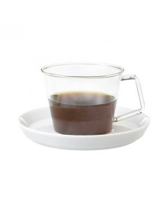 Cast Espresso Cup & Porcsaucer