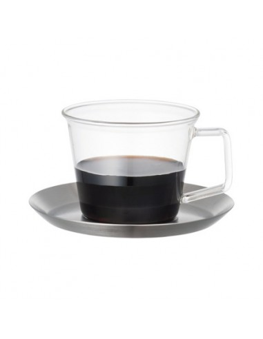 Cast Coffee Cup & Saucers Stainless Steel