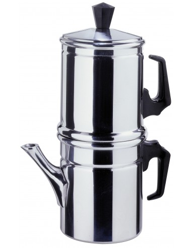 صانعة القهوة بالتقطير نابوليتانا سعة 1-2 كوب من إلسا