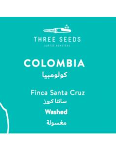 ثري سيدز كولومبيا سانتا كروز - حبوب قهوة كاملة بوزن 250جم
