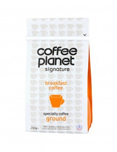 Coffee Planet Breakfast Blend Ground Coffee 250 g