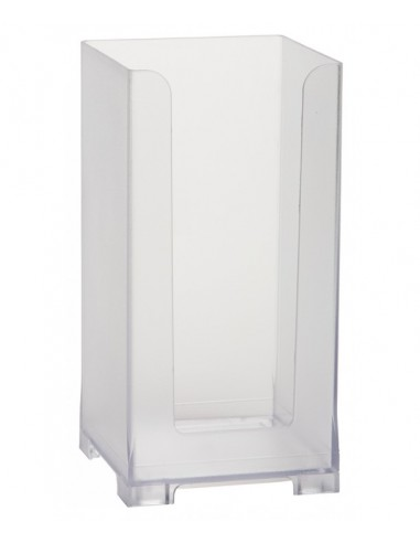 Rattleware Snap Bin, 8.5in, Frosted