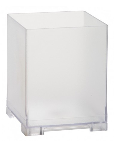 Rattleware Snap Bin, 5.5in, Frosted