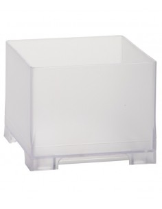 Rattleware Snap Bin, 3.5in, Frosted