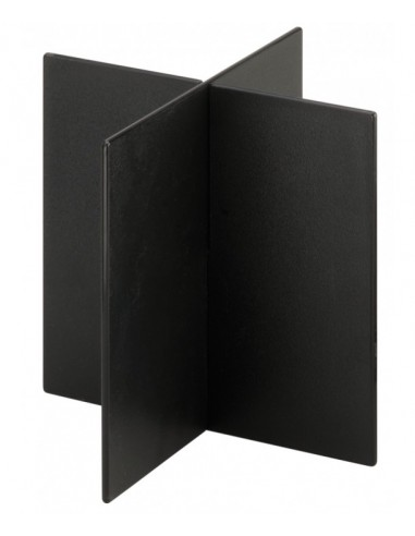 Rattleware Snap Bin Diagonal Divider 5in, Black
