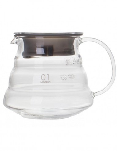 Hario V60 Glass Range Server Clear