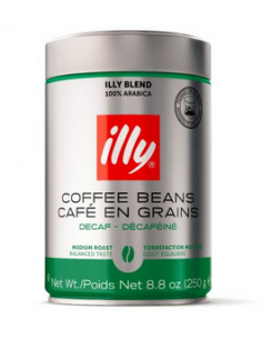 Illy Decaffeinated Whole Beans Coffee 250 g