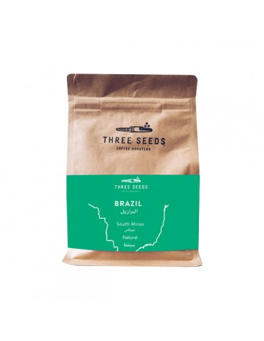 Buy 3 Seeds Brazil Coffee Beans 250g in Saudi Arabia, Khobar